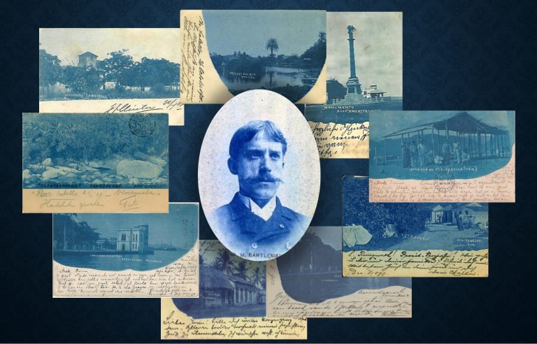 Cyanotype on Our Postal Stationery