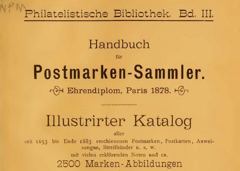 Oldest German Catalogue of Venezuela Stamps