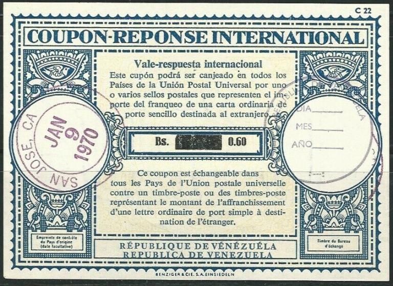 Cupones de Respuesta Internacional o IRC
